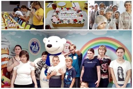 Экскурсия на кондитерское производство «Север-Метрополь»
