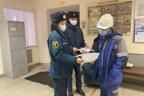 В Василеостровском районе проведен инструктаж работников крупного предприятия теплоснабжения